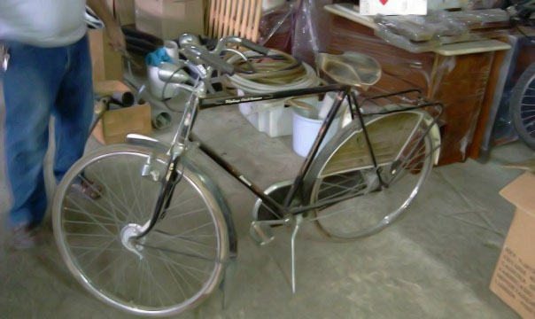 Bicicleta para restauro